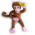 Toy Monkey - Handwoven, Fairly Traded